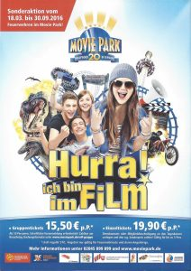 Movie Park Aktion